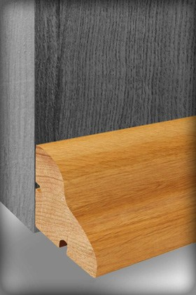Wooden weather bars are fitted to wooden doors to keep the heat in and wind and dirt out.