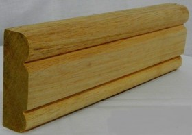 AT17 Meranti/Supawood Architrave. Size:90mm x 22mm